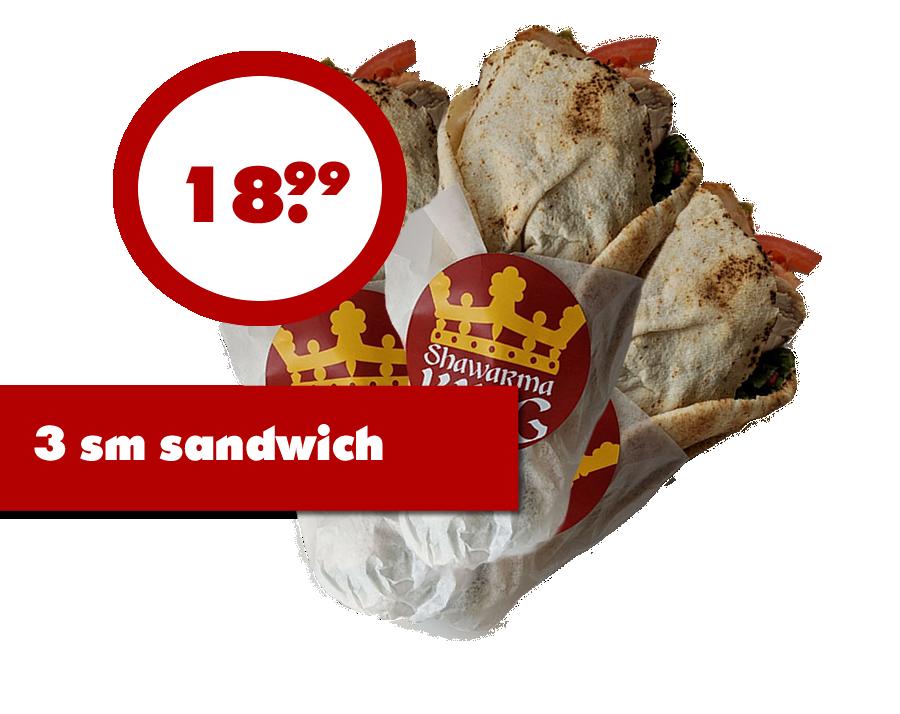 3 Shawarma