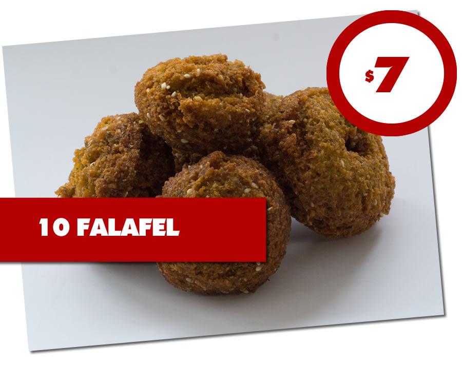 10 FALAFEL