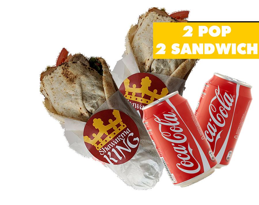 2 Pop 2 Sandwich